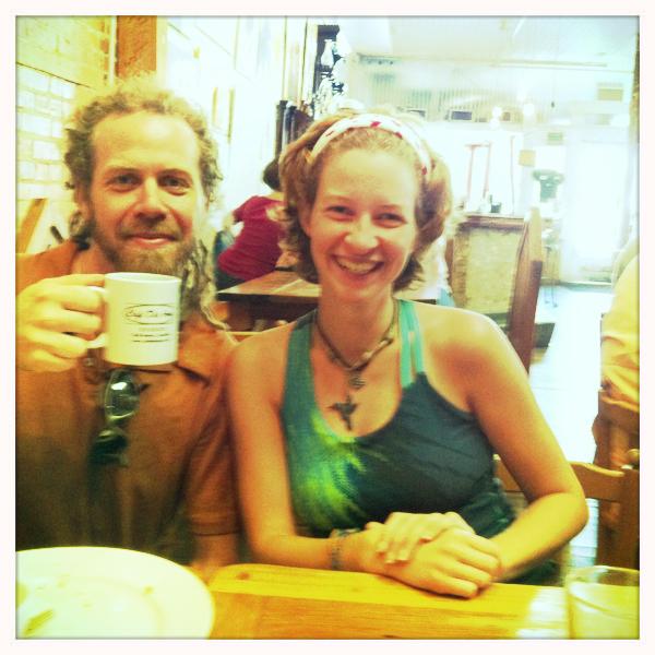 Seth & Rauchelle...before we ever met Seth.  New Orleans.