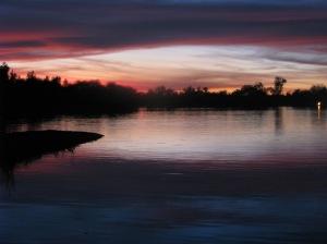 Sunset at Fortuna