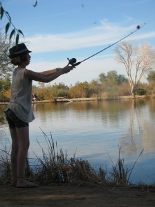 Maret caught 4 fish