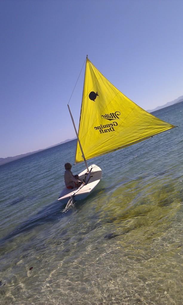 Sailing @ Los Frailes spring 2013