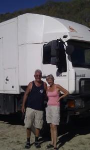 Man machine owners Kacpar & Bridgette