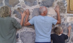 finding warmth in the mission walls
