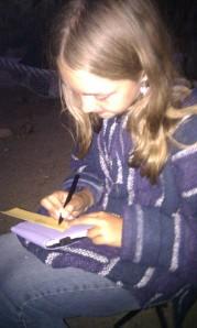Toveli writing
