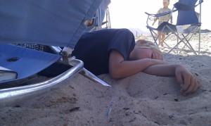 Laars on sand