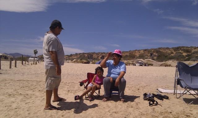 Benito, Juanita and little Michelle