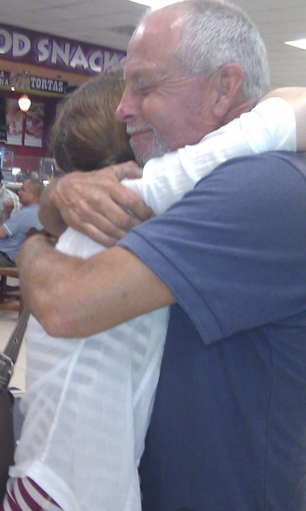 First dad hug