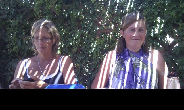 Mom & Dan