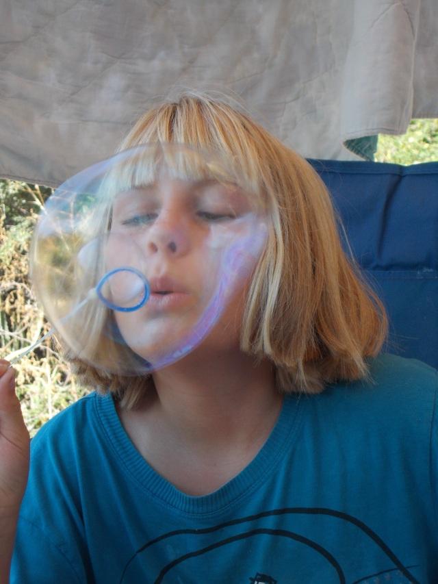 Bubble face