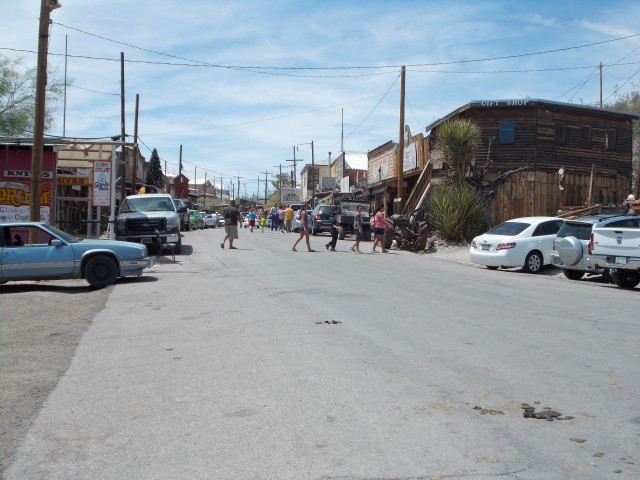the town of Oatman