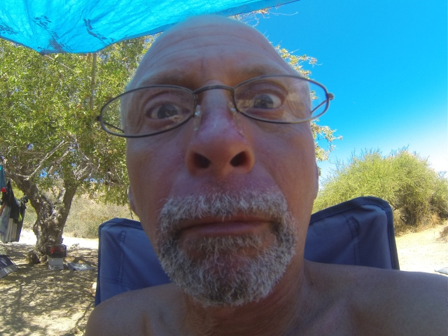 Got a GoPro camera and Everette liked to play with it!  Los Frailes, April 11, 2013