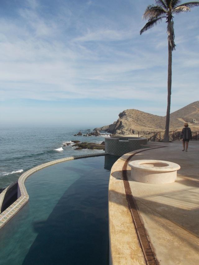 swimming pools, bridges, hot tubs (plural), swim-up bars