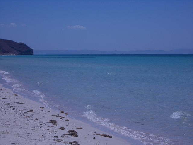 left beach