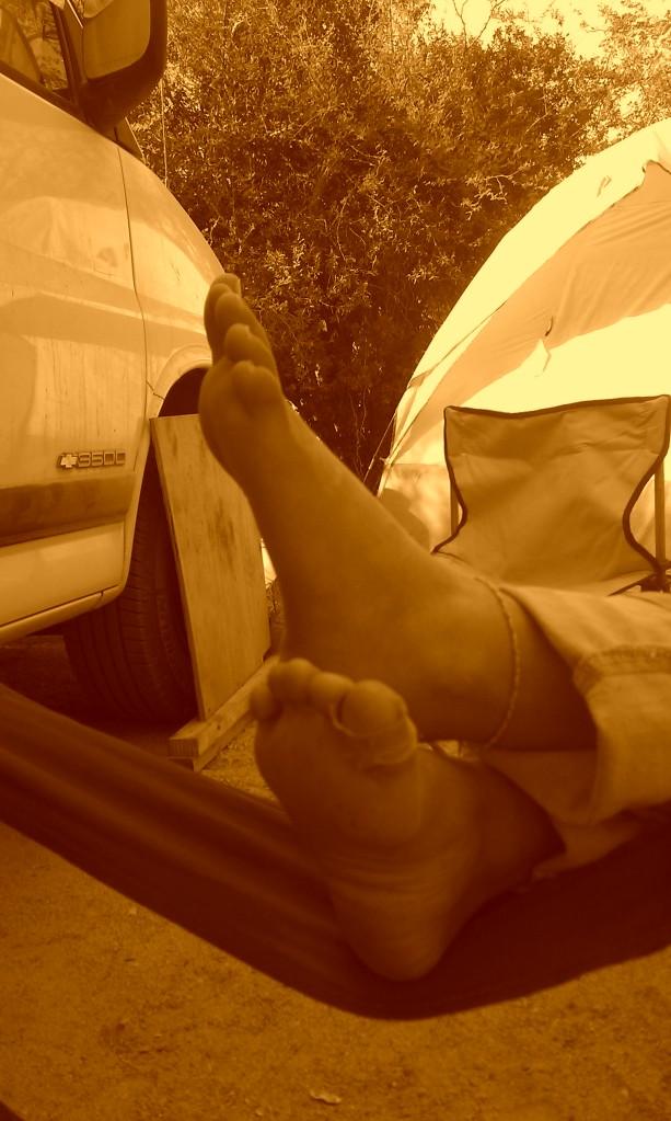 Maret's feet