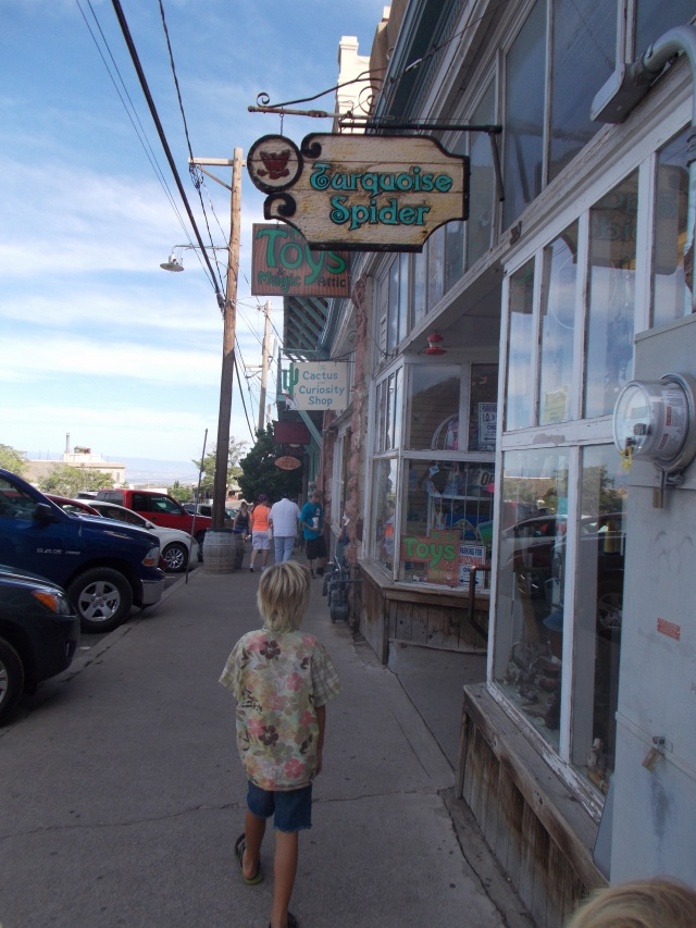 storefronts, we headed to the Toy Store where the owner shot us with smoke and a list of other bizarre things