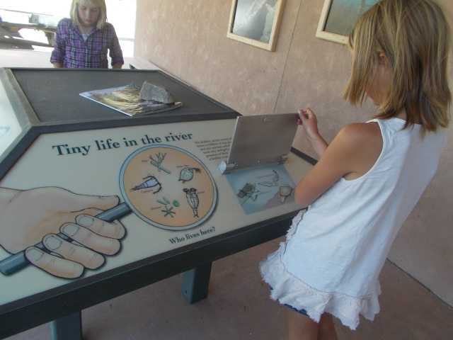 Interactive activities at the Rio Grande Visitor Center