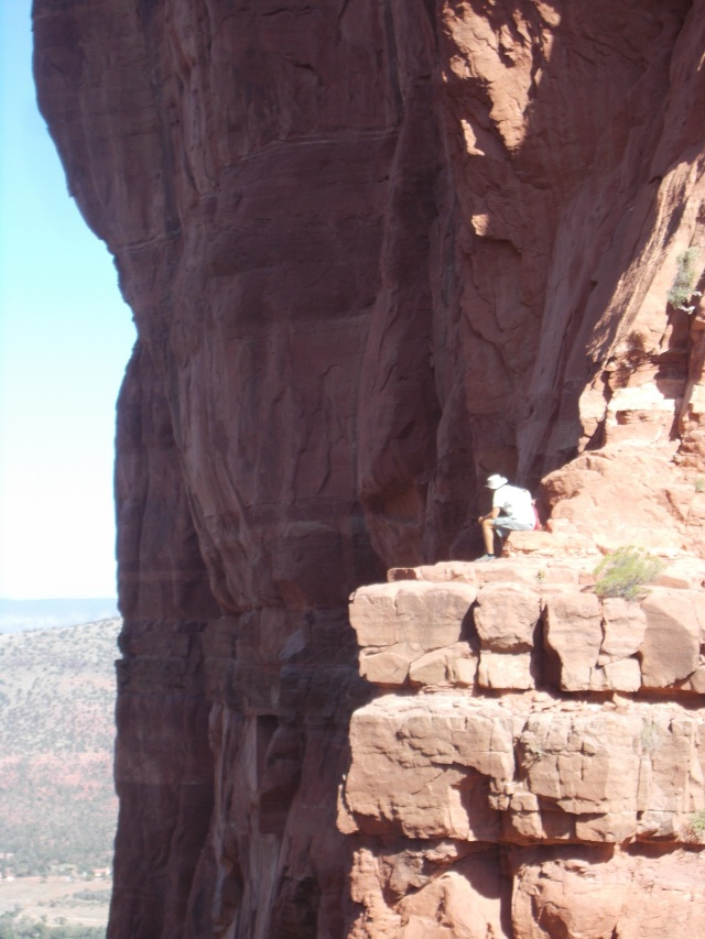 Everette on the cliffs near Sedona, AZ