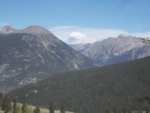 10,910 ft at Molas Pass
