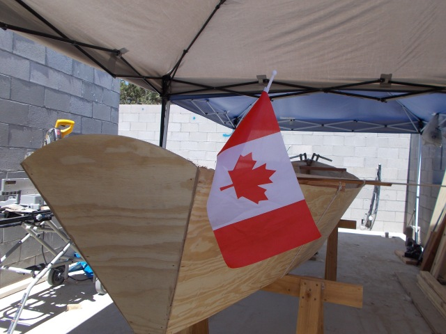 Mitchell's Canadian boat in the making.  Post & more pics coming next week.