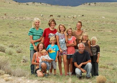 Colorado with the wild horses