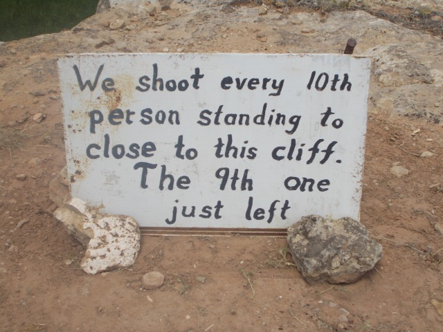 We shoot every 10th person