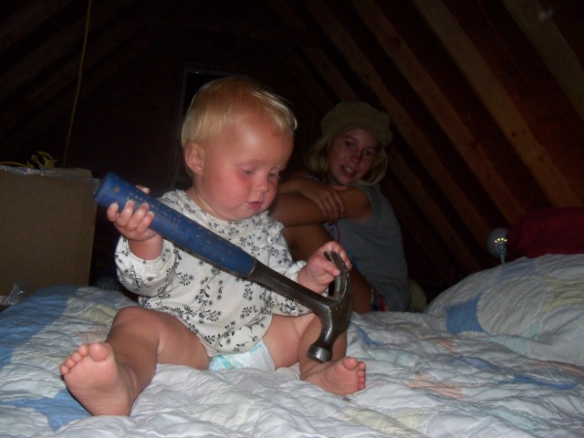Taking a hammer to bed