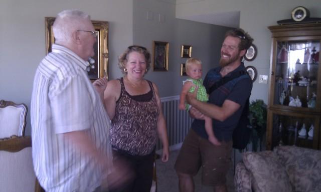 Seth & Marin meet Aunt Jo & Uncle Kevin