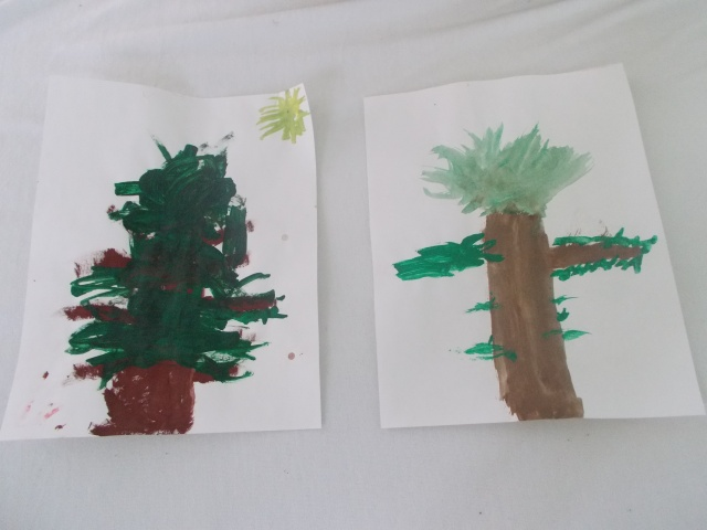 Trees.  I particularly enjoy the one on the right.