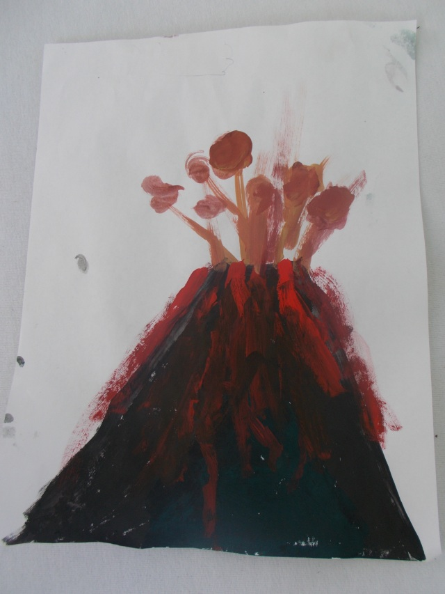 This might be my favourite so far.   Volcano
