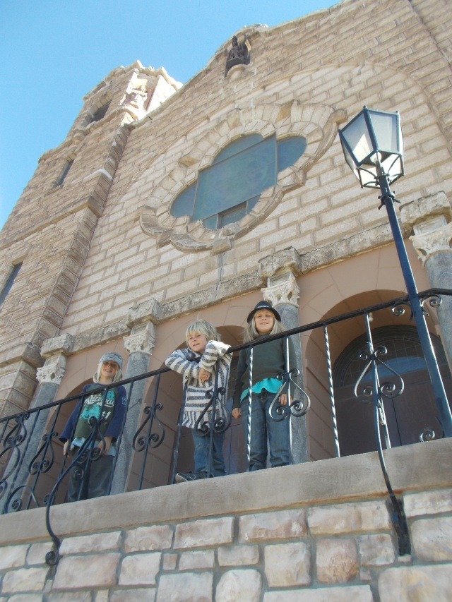 Holy Angels Catholic Church was dedicated Sept 29, 1918 and on the Nat'l Register of Historic Places