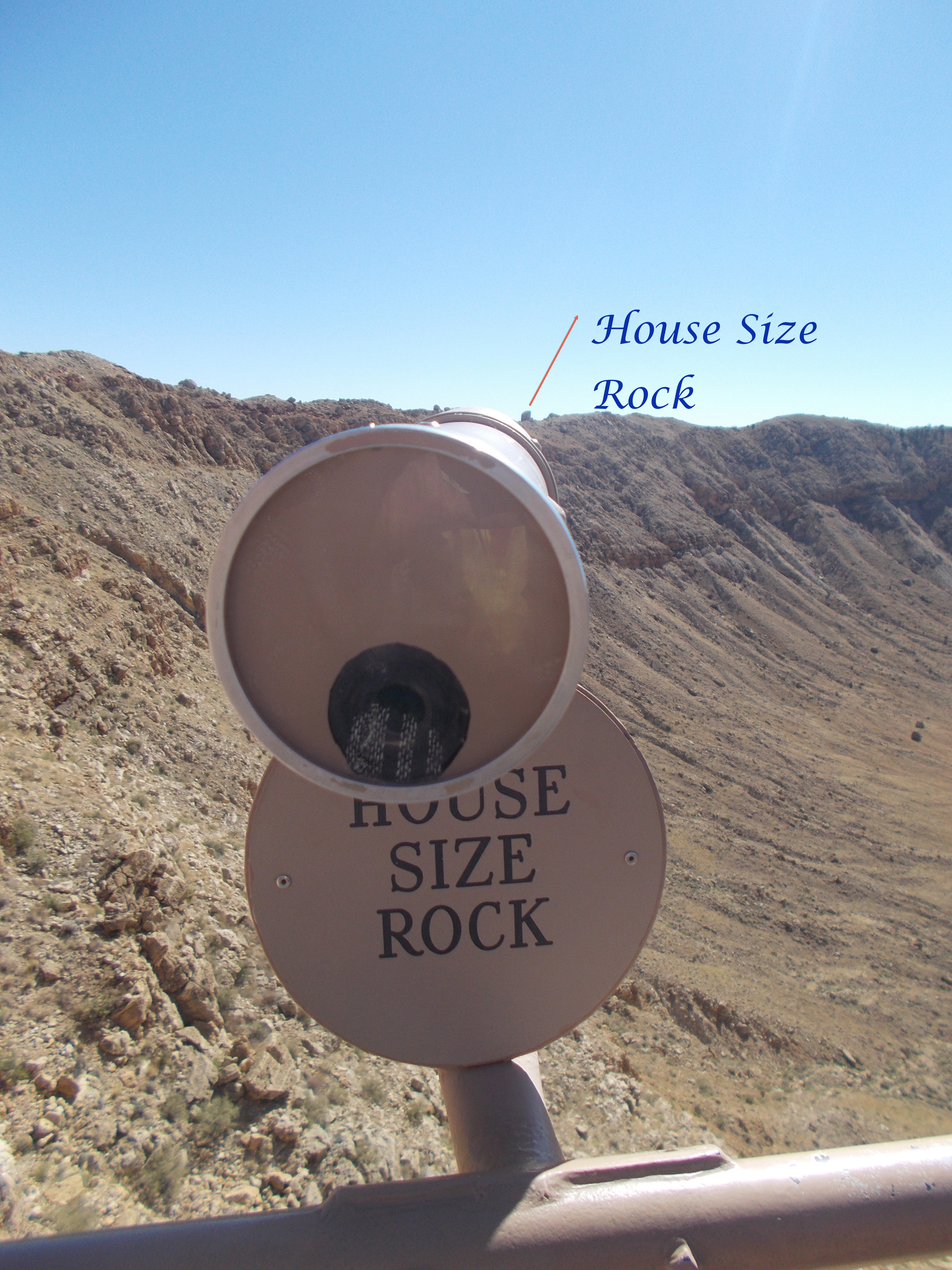 An Impact Site: Meteor Crater | Acrobatic Thoughts