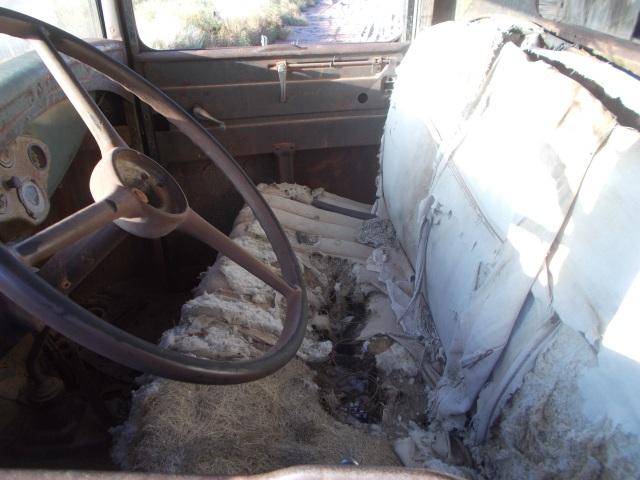 Seats, a tad bit weathered