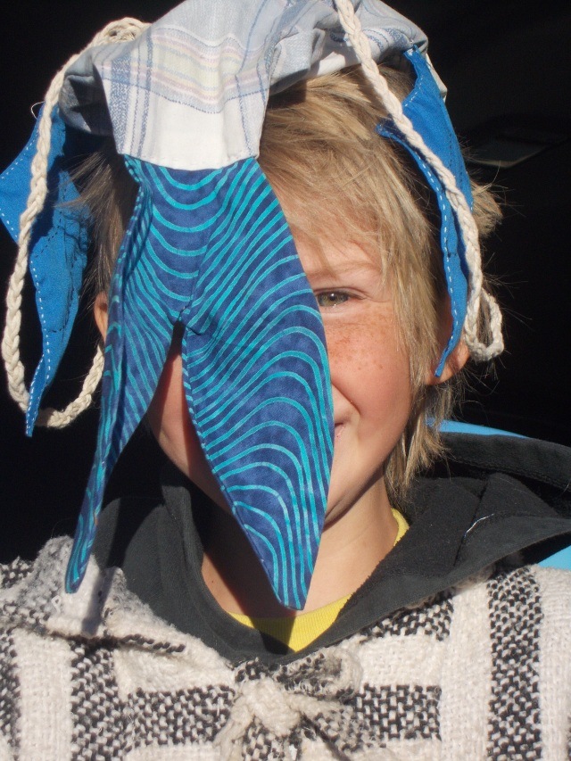 Laars' silly fish hat