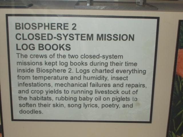 Mission Log books