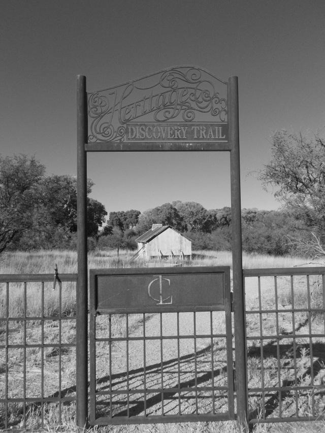 Heritage gate b:w