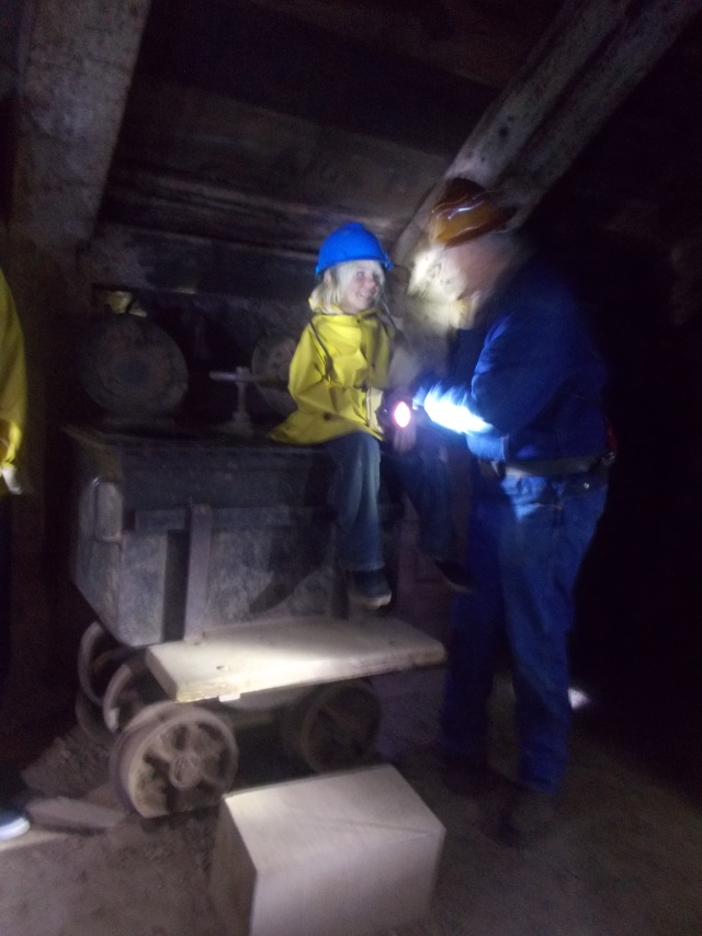Anders showed how the lavatory car was used, and we heard all the dirty tricks that would be played on the newest miners.