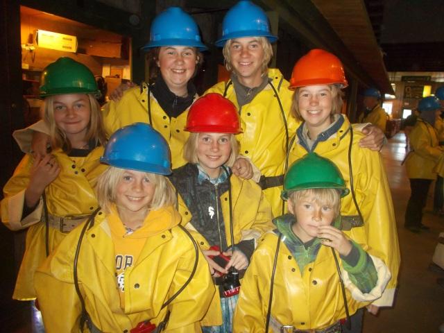 Miner's kids