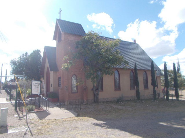 First Protestant church in AZ