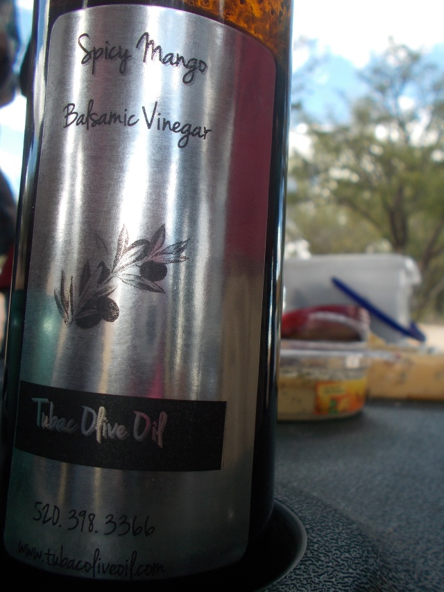 The Spicy Mango Balsamic from Tubac Olive Oil Co in Tubac, AZ