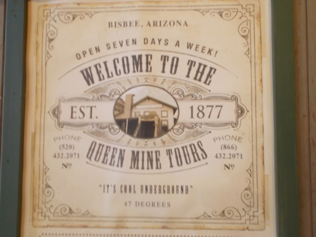 Welcome to the Queen Mine Tours