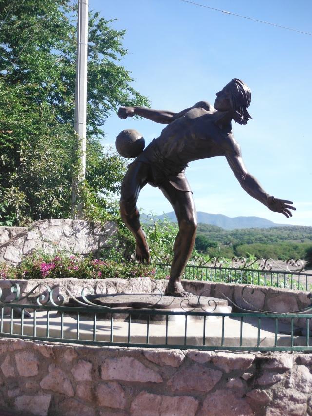 ballgame statue