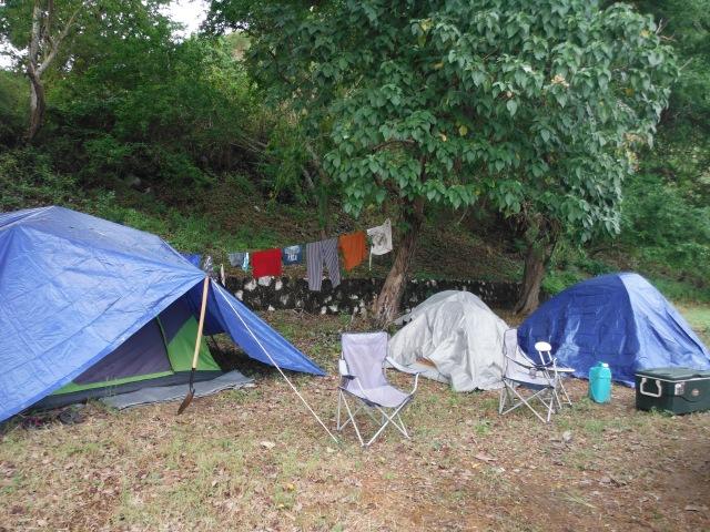 Almost-free camping at San Patricio-Melaque