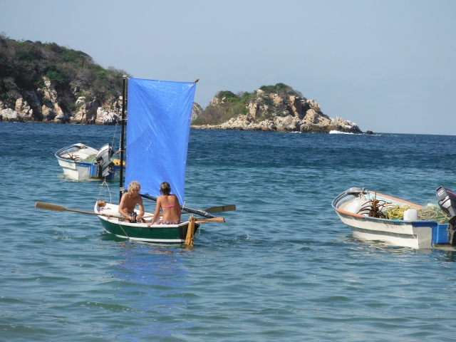 M& M take Girlfriend out for a sail