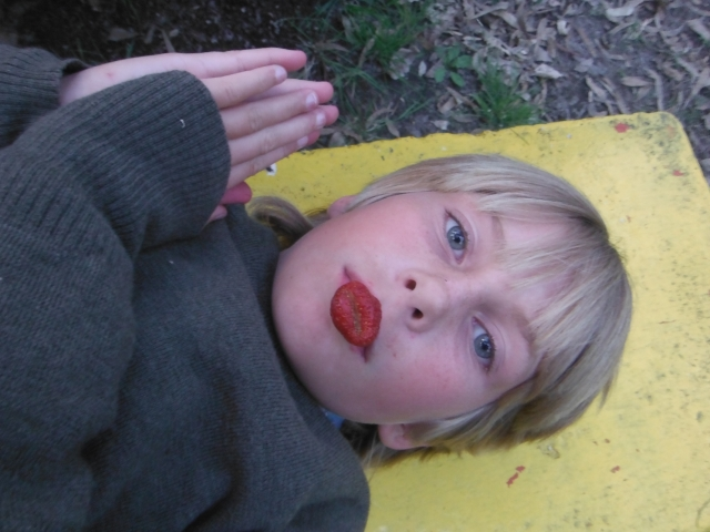 Gaelyn with Strawberry Lips
