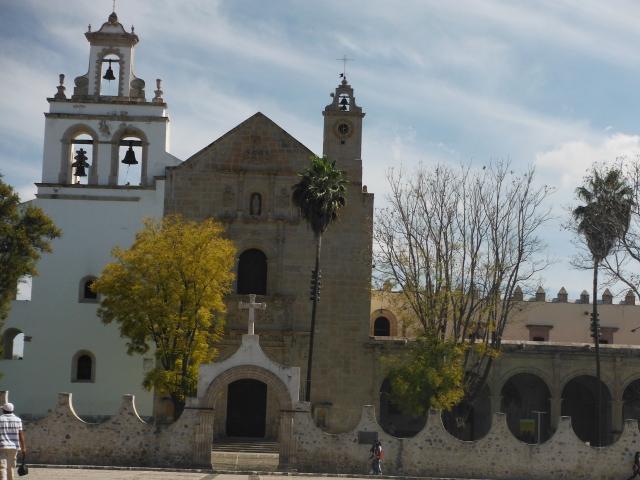 Plaza del Convento de Santa Maria Magdalena del Cuitzeo