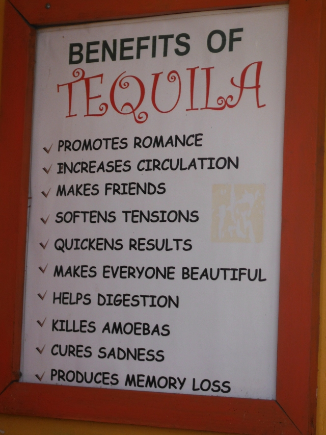 Benefits of Tequila