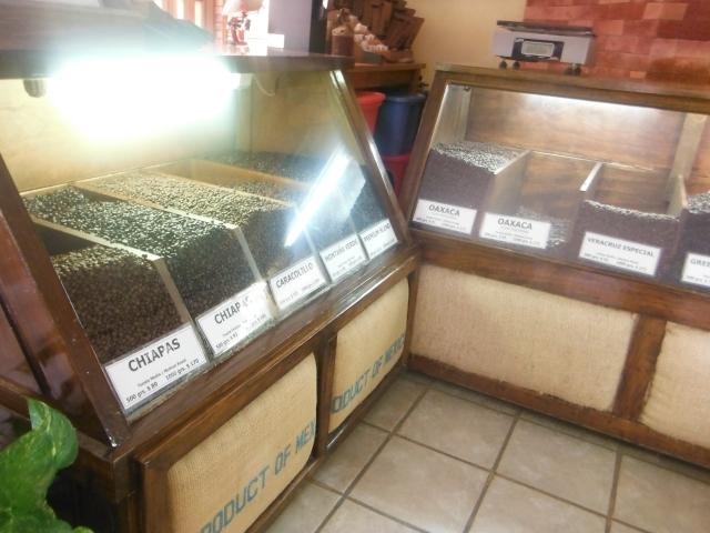 Everette likes the Oaxaca (sounds like wa ha'ca)blend.