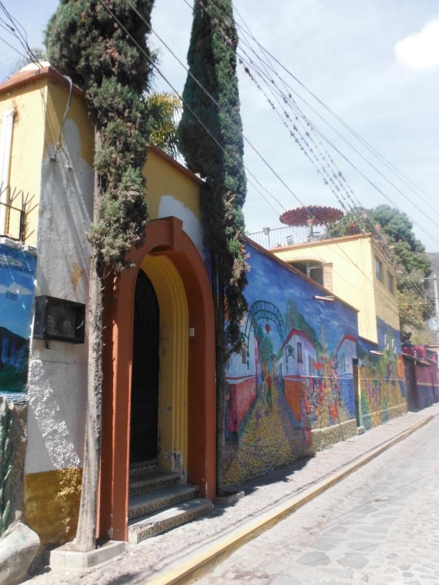 mural on house