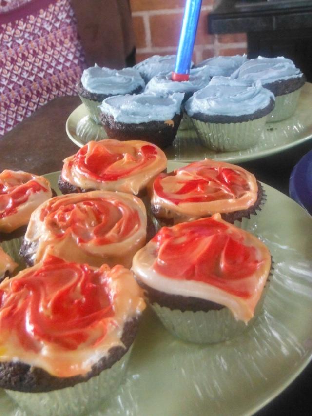 Cupcakes for dessert