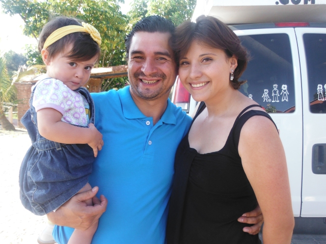K, David and Marisol Sampson