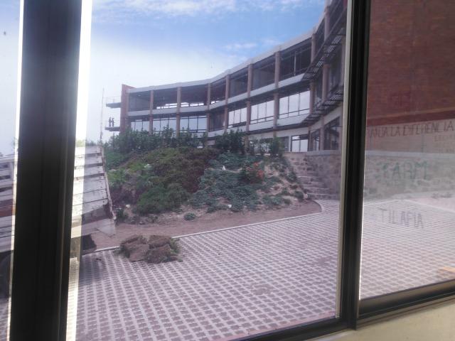 School as seen from the 'Farm' (I'll post about the aquaponics farm tomorrow)